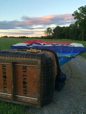 Liberty Balloon Company: Our landing