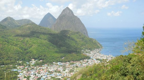 Cosol Tours: The view of Soufriere