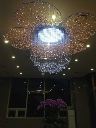 Lotte City Hotel Mapo: light in entrance way