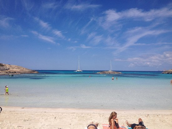 Playa de Ses Illetes: Maravilhosa!