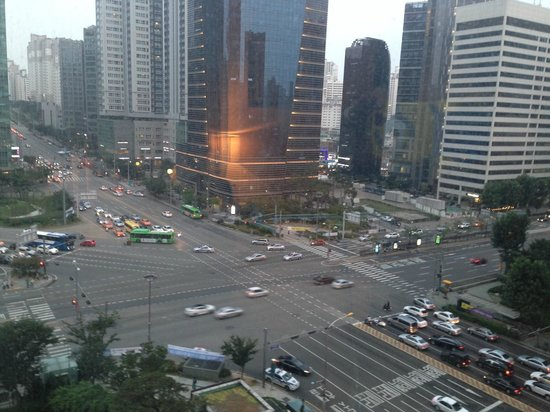 Lotte City Hotel Mapo : view from room on 8th floor