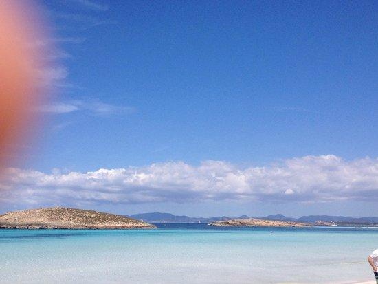 Playa de Ses Illetes: ...