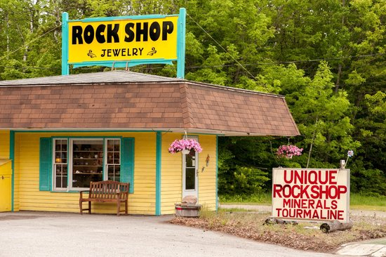 Bucksport, ME : Unique Rock Shop, Rocks!