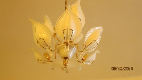Metamorphis: Ceiling light