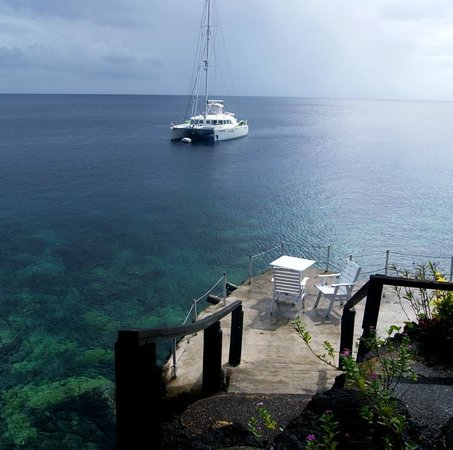 Paradise Taveuni : Awesome view of the new mooring