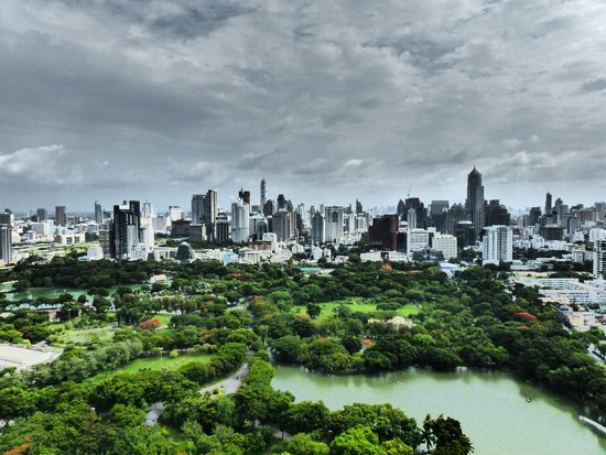 SO Sofitel Bangkok: View from the roof bar