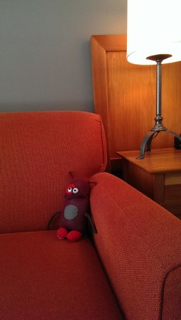 Summit Lodge Boutique Hotel : You can adopt a sock monster to take home!