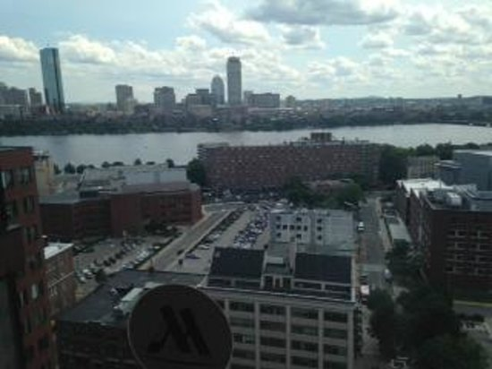 Boston Marriott Cambridge: View from our room