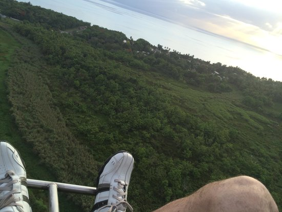 Coqui del Mar Guest House: View from above on a Para Motor