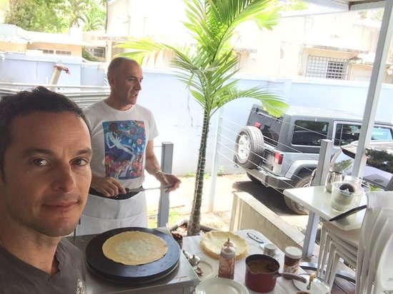 Coqui del Mar Guest House: Brunch at Il Postino...Recommended!