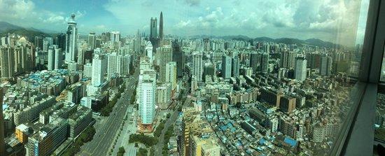 Crowne Plaza Shenzhen Longgang City Centre: Shenzhen panorama