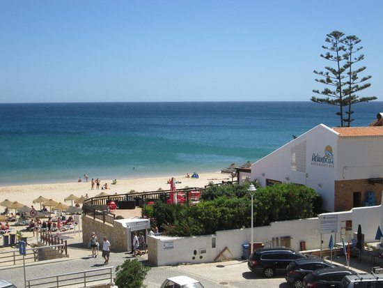 Hotel Residencial Salema: View from our room.