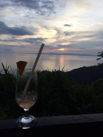 Villa Caletas: Restaurant view