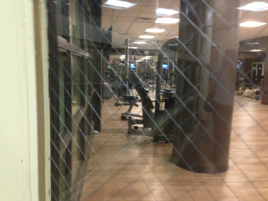 Wyndham Hamilton Park Hotel and Conference Center: Gym