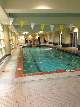Wyndham Hamilton Park Hotel and Conference Center: Indoor pool