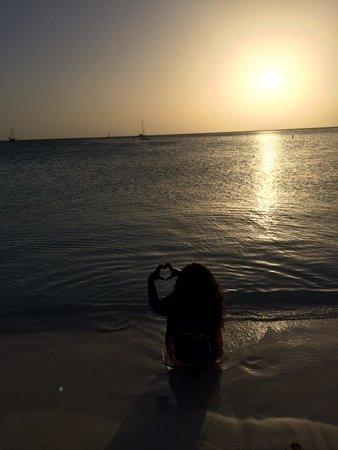 Marriott's Aruba Ocean Club: Sunset