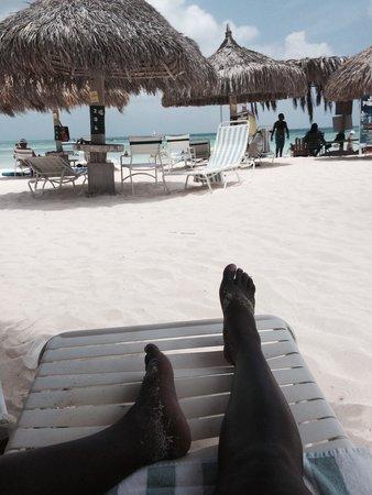 Marriott's Aruba Ocean Club: Relaxing beachside!