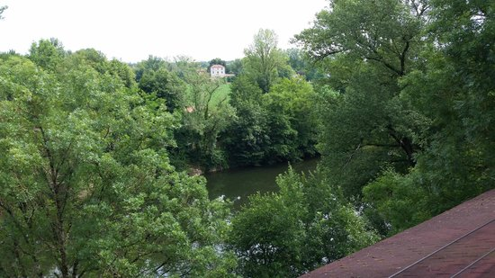 Les Gorges de l'Aveyron : View from the Dining Room