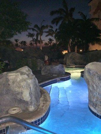 Marriott's Aruba Ocean Club: Hot tub!