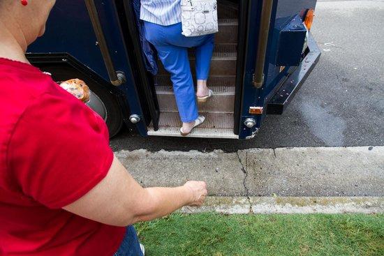 Alabama Constitution Village : Watch your step