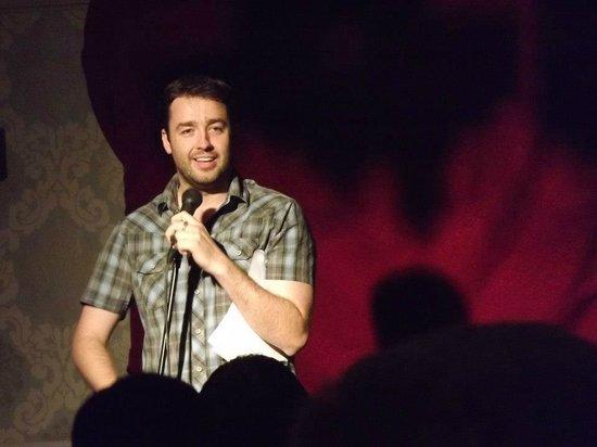 Jason Manford at The Congleton Comedy Club