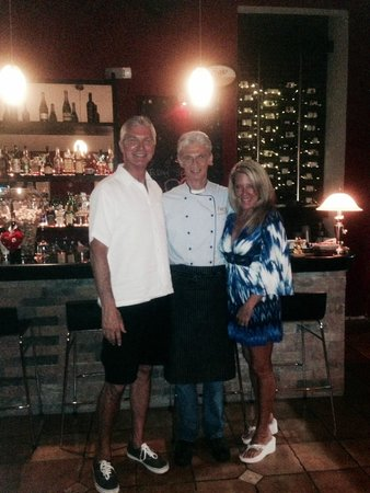 Peter's Restaurante: My wife and I with Peter.