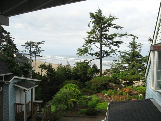 Ocean House Bed and Breakfast: View from the Windswept room.