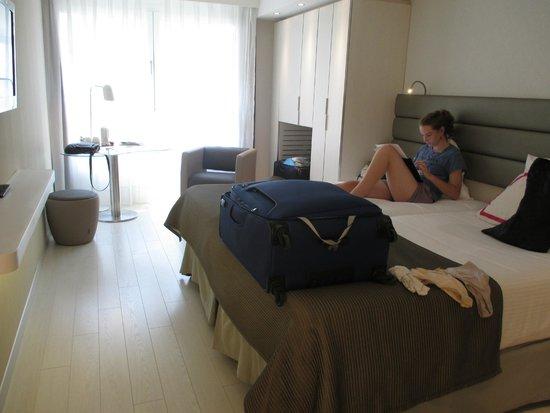 Eurostars Book Hotel: Twin room