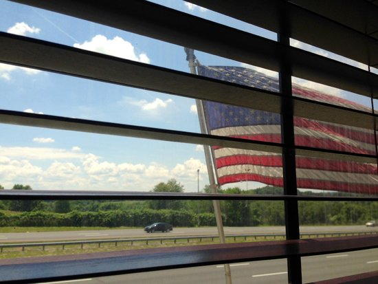 Clinton Station Diner: View from our booth.