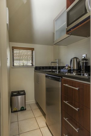 Kauri Motel on Riccarton : cooking facilities available in all units