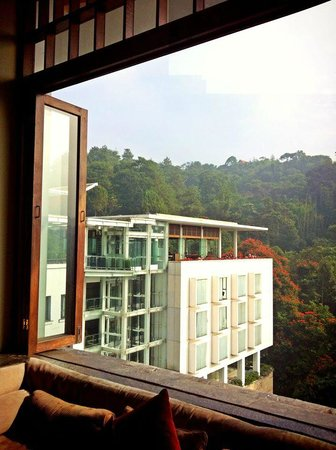 Padma Hotel Bandung: window