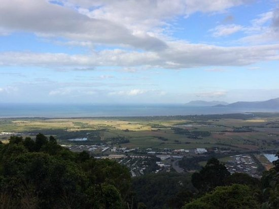 Perentie Tours: View of Cairns and the Coral Sea