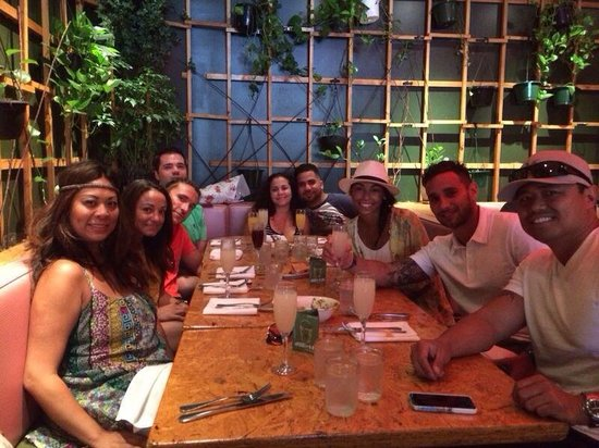 Macondo : Brunch with friends at a great spot.