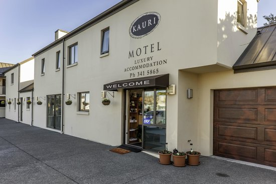 Kauri Motel on Riccarton : reception
