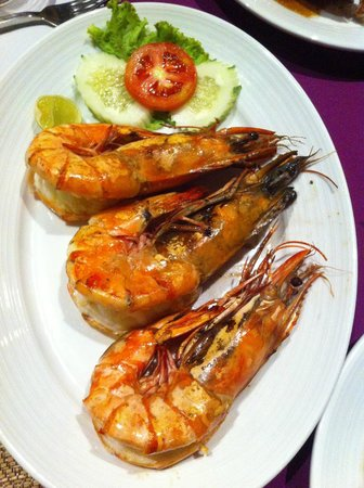 La Dolce Vita - Ristorante & Lounge Beach Bar: King prawn bbq
