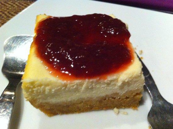 La Dolce Vita - Ristorante & Lounge Beach Bar: Homemade cheesecake