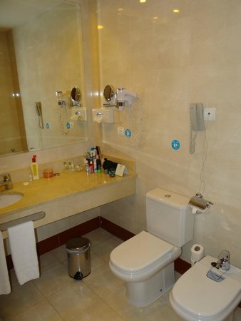 Elba Madrid Alcalá: Banheiro