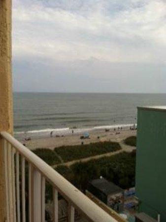 Sea Mist Oceanfront Resort: Balcony view from 6th floor