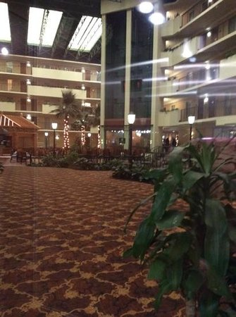 Embassy Suites by Hilton Memphis : the beutiful lobby!