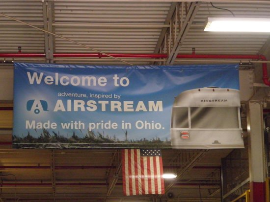 Airstream Factory Tour: No cameras after this point.
