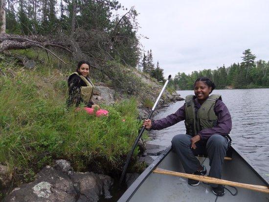 Blue Heron Bed & Breakfast: Canoeing at the Blue Heron B&B