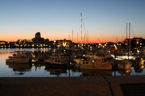Dashwood Manor Seaside Bed and Breakfast Inn : The harbor is a 20 - 30 minute walk away