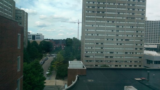 Hilton Inn at Penn: View from room