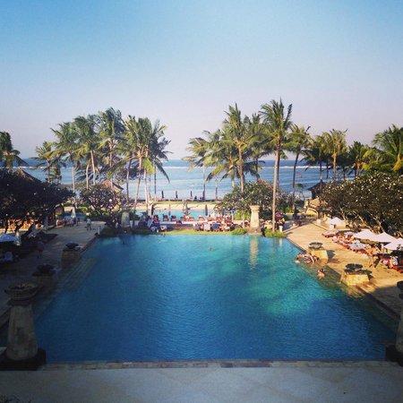 Conrad Bali: View from The Lobby, The Conrad Nusa Dua