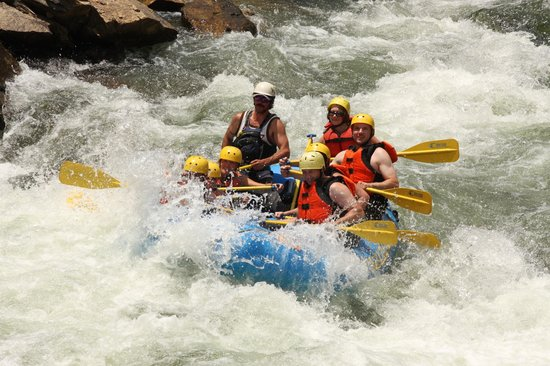 Clear Creek Rafting Company: Shake it up baby!