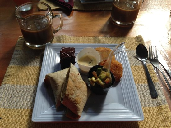Tree Houses Hotel Costa Rica: Delicious breakfast