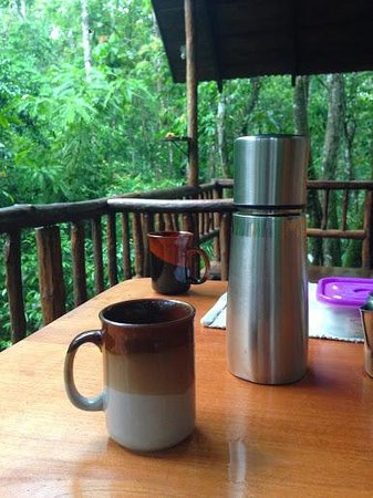 Tree Houses Hotel Costa Rica: Cafe con Leche!