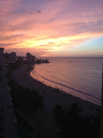 Courtyard by Marriott Isla Verde Beach Resort: Gorgeous view from the balcony