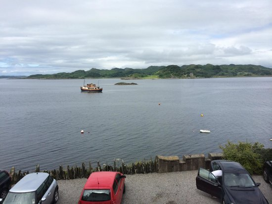 Crinan Hotel: View from room #2! Amazing!
