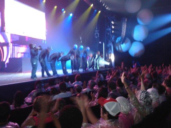 Blue Man Group: Aplausos!!!
